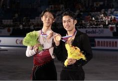 With Yuzuru Hanyu(JAPAN) : ISU Grand Prix of Figure Skating Final 2012