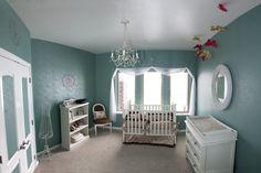 Vintage Girl Nursery- gorgeous!