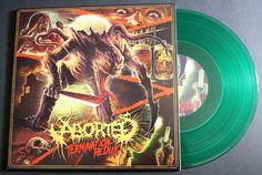 "ABORTED Termination Redux 10"" Green Vinyl Record EP Century Media 2016 Import #DeathMetal"