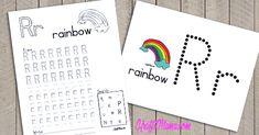 Bullet Journal, Rainbow, Rain Bow, Rainbows