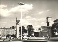 71987147 Czestochowa Schlesien Platz mit Denkmal Tschenstochau