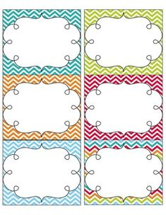 7 Best Images of Turquoise Chevron Name Tags Printable Free - Free Printable Chevron Labels, Free Printable Chevron Labels and Turquoise Chevron Party Supplies Chevron Name Tags, Chevron Labels, School Classroom, Classroom Themes, School Fun, Binder Organization, Classroom Organization, Name Tag For School, Notebook Labels