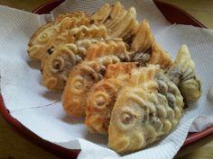 붕어빵 for Korean Winter  Bungeoppang is the Korean name of a pastry similar to the Japanese fish-shaped pastry taiyaki. Bungeoppangs are prepared using an appliance similar to a waffle iron