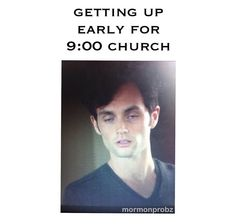 Mormon memes and gossip girl