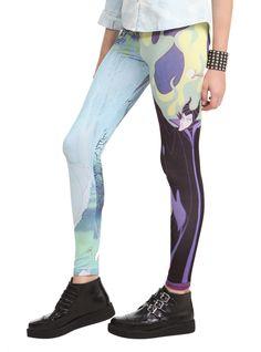 Disney Sleeping Beauty Aurora And Maleficent Leggings 2XL | Hot Topic