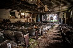 Abandoned theater - Bombshell by jeremy marshall, via Flickr