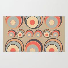 Textures/Abstract 36 Area & Throw Rug by ViviGonzalezArt - $28.00