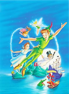walt disney - Peter Pan Watched this childhood favorite on the plane ride home :)