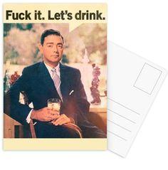 Let's Drink - John Keddie - Postkartenset