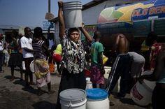 Haiti - Bau eines Brunnens für die Slums