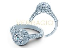 Classic-926R7 engagement ring from of diamond engagement rings by Verragio