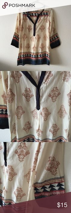 Lucky brand blouse Lucky brand size XS blouse. No flaws Lucky Brand Tops Blouses