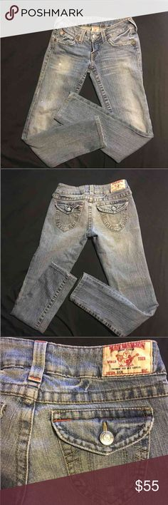 True religion jeans 27 Women's true religion skinny jeans size 27. Excellent preowned condition no flaws like new True Religion Jeans Skinny