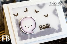 (I) (L)ove (D)oing (A)ll Things Crafty!: BOO! Shaker Card