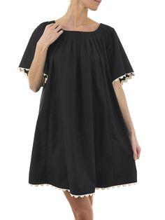 Summer Smock Dress Ricrac