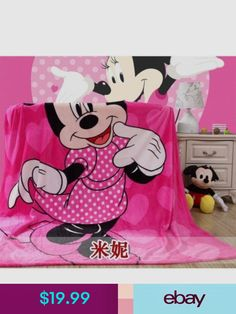 Disney Cartoon Minnie Mickey Mouse Spider-Man Iron Man Car Soft Flannel  Blanket Throw for Boys Girls on Bed Sofa Couch Kids Gift. Category  Home    Garden. 5d76ba4c7