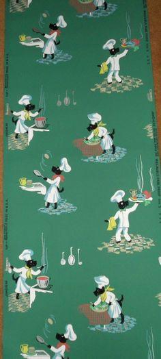 vintage wallpaper Vintage Stuff, Vintage Art, Craftsman Bungalows, Retro Wallpaper, Wall Pockets, Tole Painting, Vintage Walls, Vintage Children, Vintage Kitchen