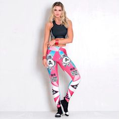 Fitness clothing and accessories shop Skull Leggings, Printed Leggings, Leggings Fashion, Fashion Pants, Style Fashion, Gym Clothes Women, Ankle Length Pants, Workout Leggings, Yoga Leggings