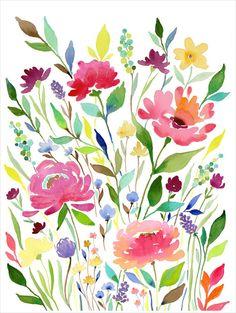 12x16 Print Let Your Garden Grow par stephanieryanart sur Etsy, $26.00