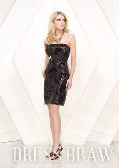 Pretty Straps Mini-Length Sequins Prom Dresses: Dressbraw.com