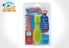 Escovar os dentes virou brincadeira! Vários tamanhos e cores atrativas! #petmeupet #cachorro #petgames