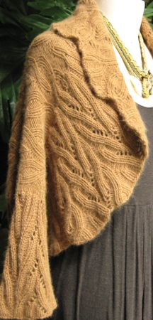 Eve's Ribs knit shawl collar shrug -- I need to make this now!!