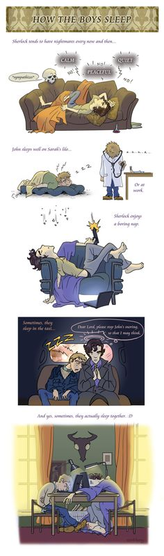 Not in bed, though. I do not ship Johnlock.