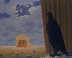 Gaspard de la nuit  1965,  René Magritte (1898-1967)