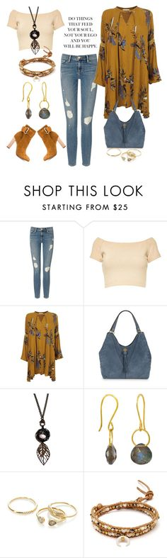 """""""SoulFood"""" by agolm ❤ liked on Polyvore featuring Frame Denim, Alice + Olivia, Nanette Lepore, Juvi, Orelia, Chan Luu and Schutz"""