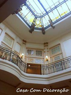 Interior do prédio CCBB- São paulo