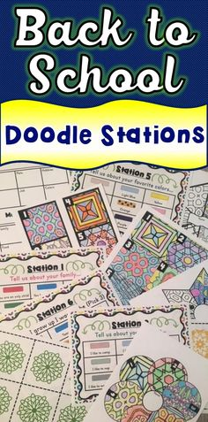 "This super-colorful Back to School doodle activity is a great way to learn about your students and build community. It's a fun, creative, colorful, collaborative ""All About Me"" icebreaker activity! Icebreaker Activities, Classroom Activities, Classroom Organization, Classroom Management, History Activities, Science Classroom, Behavior Management, Classroom Decor, Get To Know You Activities"
