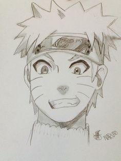 I drew naruto