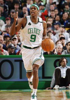 Rajon Rondo, Boston Celtics point guard!