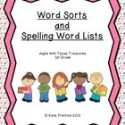 This 120 page pack contains Word Sorts and Spelling Word Lists that I have created for my first grade classroom.  The sound patterns are follow the...