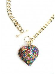 Candy Heart Necklace  $30.00