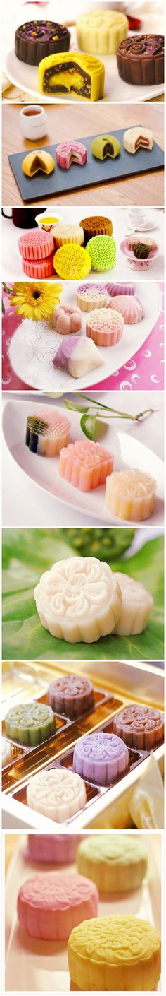 Chinese Moon Cakes, I have no idea what they taste like but I am so willing to try one.