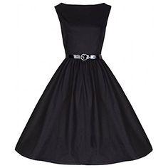 Lindy Bop Vintage 50S Audrey Hepburn Style Swing Party Rockabilly Evening Dress Black XX-Large Lindy Bop http://smile.amazon.com/dp/B0064X6LT6/ref=cm_sw_r_pi_dp_IFcqwb0B66JY1