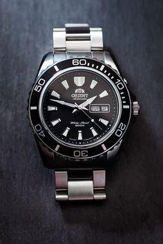 1Orient Mako XL CEM75001B - orientwatchusa.com/em75001b