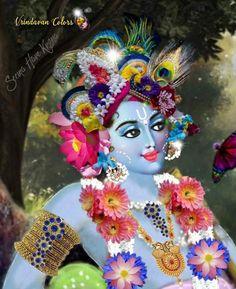 Bal Krishna, Jai Shree Krishna, Cute Krishna, Yoga Mantras, Lord Krishna Images, Fantasy Paintings, Hare, Princess Zelda, Colours