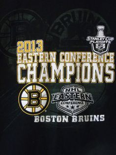 XL Boston Bruins 2013 Eastern Conference Champions T-shirt Stanley Cup #Gildan #BostonBruins