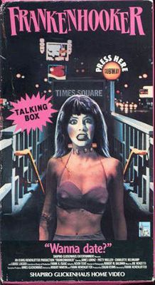 Frankenhooker, a cult classic!  The killer crack scenes are the best.