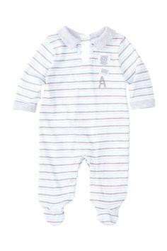Absorba   Striped Footie (Baby Boys)   Nordstrom Rack