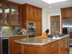 15 astonishing Kitchen Sets New Jersey Collection - Kitchen Design Kitchen Island Shapes, Small Kitchen Cabinets, Kitchen Countertop Materials, Kitchen Flooring, Kitchen Islands, Layout Design, Küchen Design, Design Ideas, Modern Country Kitchens
