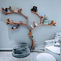 The Elm Tree bookcase - Elm Tree Bookshelf