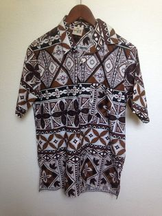 1970s vintage Double Bull Hawaiian shirt by twinflamesboutique