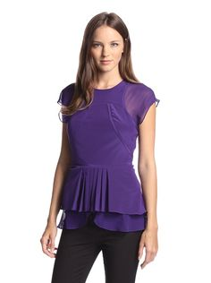 Nicole Miller Women's Izzy Georgette Top at MYHABIT