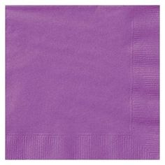 Give your event a pop of color with these Purple Paper Luncheon Napkins. Set of 20 Purple Paper Party Napkins makes it easy to clean up faces and spills at your next party. Purple Party, Neon Purple, Pony Party, Beverage Napkins, Cocktail Napkins, Purple Cocktails, Party Set, Disposable Tableware, Party Napkins