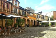 Place du Cloître Saint-Salvy, Albi (81)