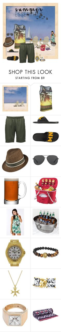 """""""Untitled #369"""" by ruffin777 ❤ liked on Polyvore featuring The North Face, MNML, Kaminski XY, Michael Kors, LSA International, Thos. Baker, Dibor, Rolex, Allurez and Bling Jewelry"""