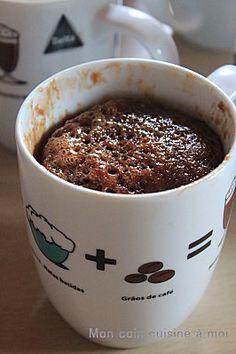 Brownie fondant (cuisson au micro onde et réalisation rapide)